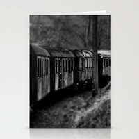 Spooky Train Stationery Cards