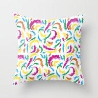 Full Colours Summer 2013… Throw Pillow