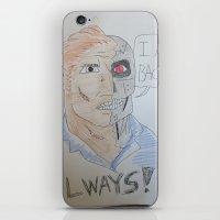 Bootleg Series: Cyborg F… iPhone & iPod Skin