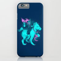 iPhone & iPod Case featuring Bodyless Seahorseman by Nick Volkert