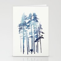 winter Stationery Cards featuring Winter Wolf by Robert Farkas
