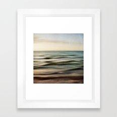 sea square I Framed Art Print