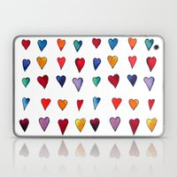 Multiple HEARTS Laptop & iPad Skin