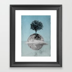 This Is How We Walk On The Moon Framed Art Print