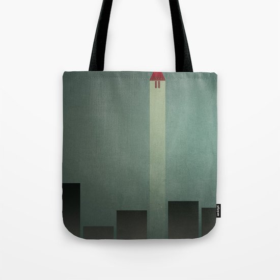 Smooth Minimal - Flying man Tote Bag