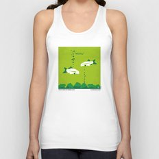 No226 My The Meaning of life minimal movie poster Unisex Tank Top