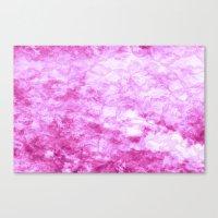 Hot Pink  - JUSTART © Canvas Print