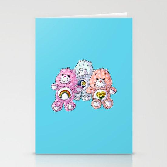 Care Bears Stationery Card