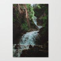Alaska Waterfall Canvas Print