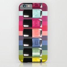 C-H-A-N-E-L Designer Nail Polish Print iPhone 6s Slim Case