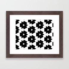 Meijer Black & White Framed Art Print