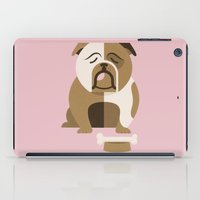 Bulldog iPad Case