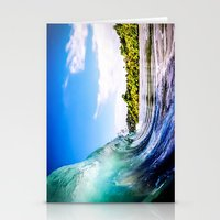 Tropical Wave Stationery Cards