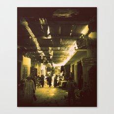 Marrakesh street life Canvas Print