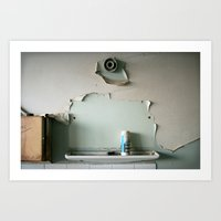 Lost Mirror Art Print