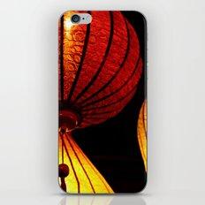 Neon Lanterns iPhone & iPod Skin