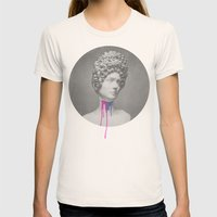 Post-Roman Womens Fitted Tee Natural SMALL