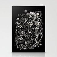 Spark-Eyed Oblivion Casc… Stationery Cards