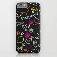 Chalkboard Doodles iPhone 6 Slim Case