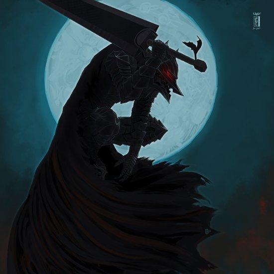 Berserk Armor Art Print