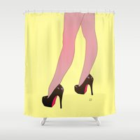 Sexy Legs Shower Curtain