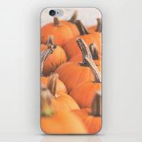 Pumpkin Season. iPhone & iPod Skin
