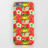 Tropical Christmas Patte… iPhone 6 Slim Case