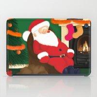 Sleeping Santa iPad Case