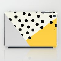 Mod Dots - Yellow And Gr… iPad Case