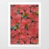 Translucent Floral Art Print