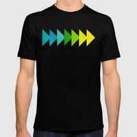 Arrows I Mens Fitted Tee Black SMALL