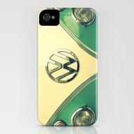 Aqua Sprinkles iPhone (4, 4s) Slim Case
