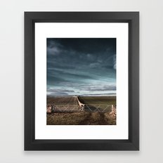 ways to make it through the wall... Framed Art Print