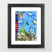 Active & Passive Framed Art Print