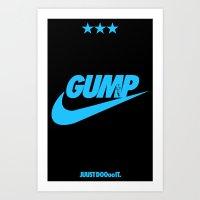 Gump- JustDoIt IV Art Print
