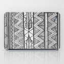 Two Feathers Monochrome iPad Case