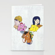 Bojack & Co Stationery Cards
