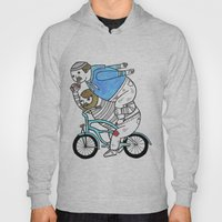 On how bicycle riders utilize team work in certain situations. Hoody