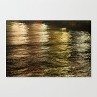 Night Light 137 - Water Canvas Print