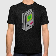 Gameboy Love Mens Fitted Tee Tri-Black SMALL