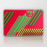 Slicing Pattern—lines and clrs—⁄ ⁄⁄ neå† design!¡!¡!COOOOL!¡!¡!¡! Laptop & iPad Skin