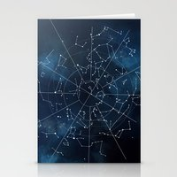 map Stationery Cards featuring Celestial Map by Rose's Creation