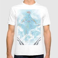 Brave New World Mens Fitted Tee White SMALL
