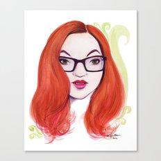 Green Ginger Tea Canvas Print