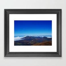 Haleakala Framed Art Print