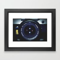 50mm Framed Art Print