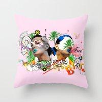 Free Love Throw Pillow