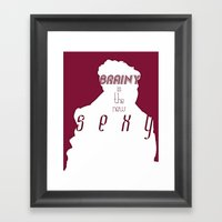The New Sexy Framed Art Print
