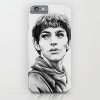 iPhone & iPod Case featuring Merlin by Anna Tromop Illustration