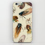 Summer Cicadas iPhone & iPod Skin